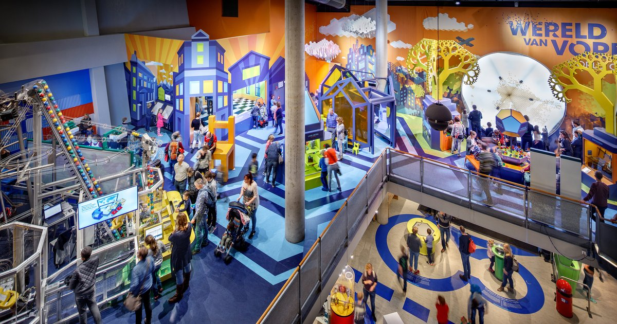 Floors Nemo Science Museum